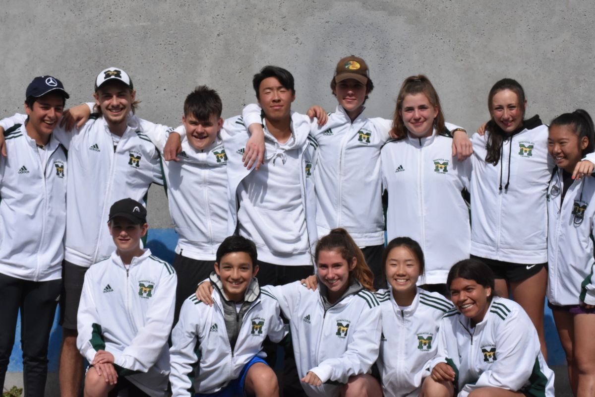 TENNIS TEAM - 4TH AT PROVINCIALS!