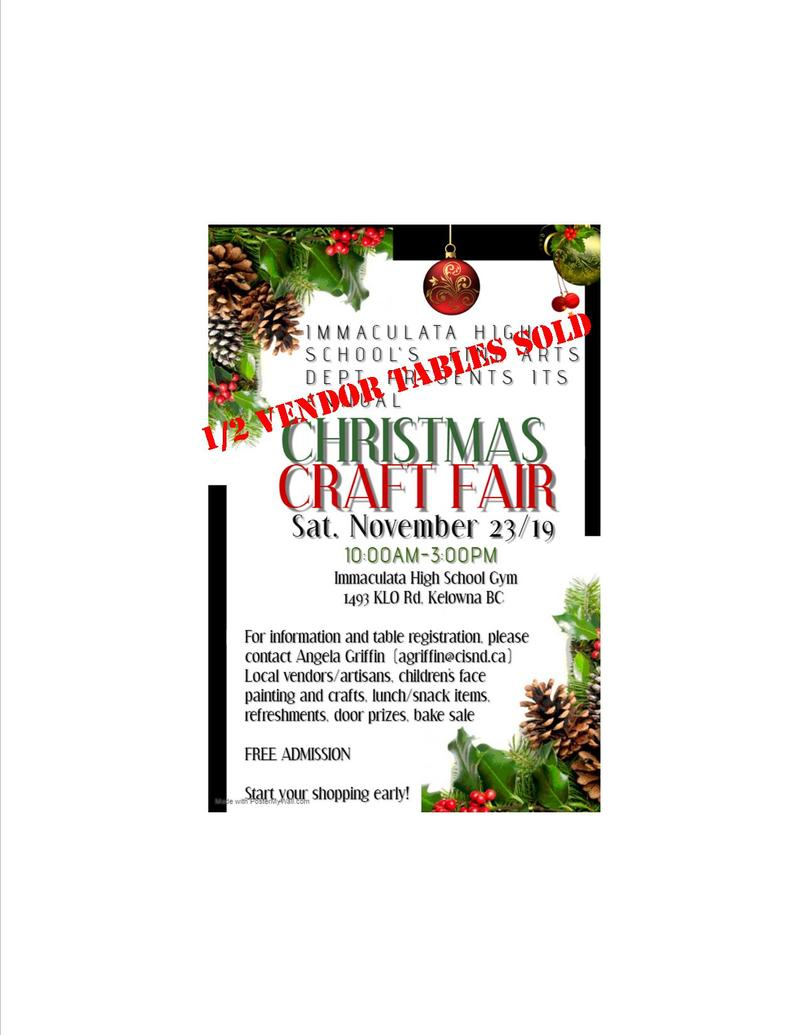 CALLING ALL VENDORS AND CRAFTERS