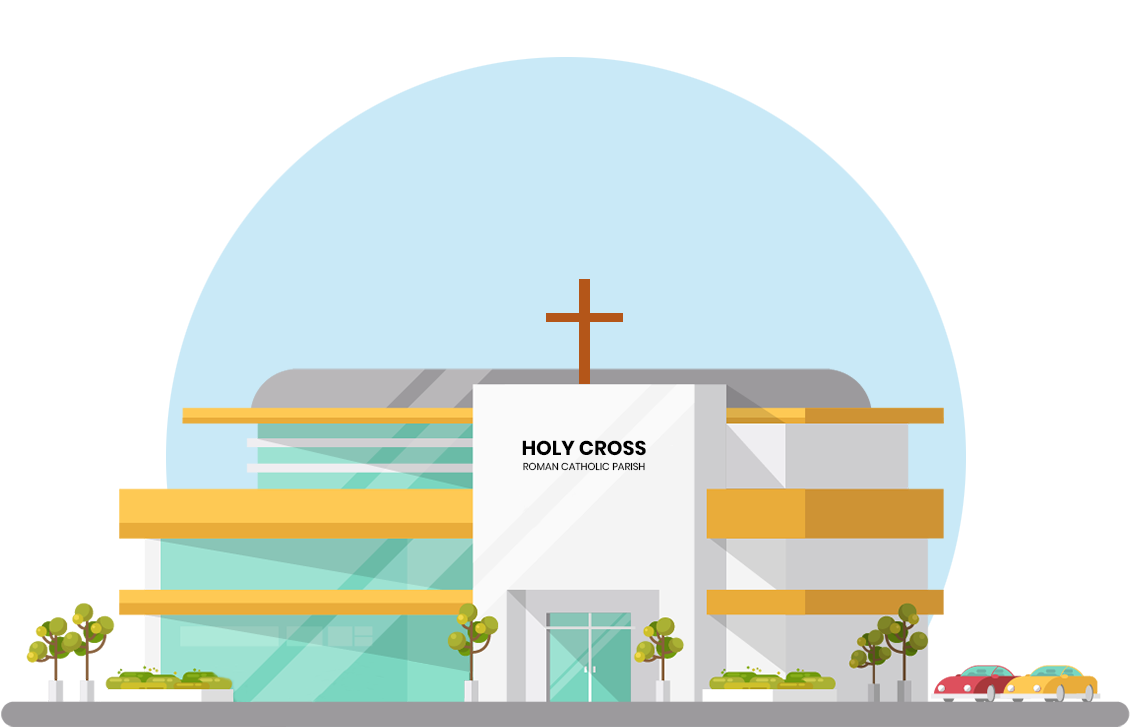 Church scene